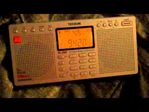 Shortwave - 9420 MHZ - Voice of Greece - Approximately 00-01 UTC