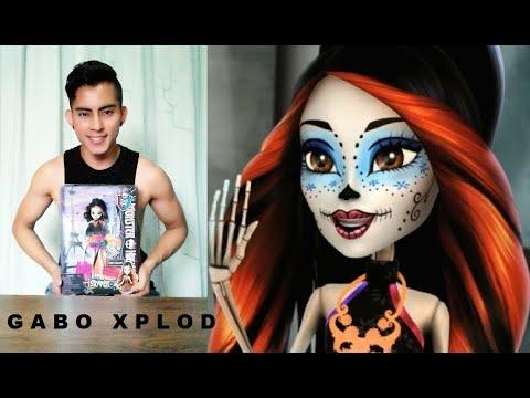 Skelita Calaveras Scaris (Doll Review Y Peinado Nuevo) [Parte 1] - Gabo Xplod