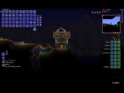 Let's play Terraria #12: Le dévoreur de monde!  x3