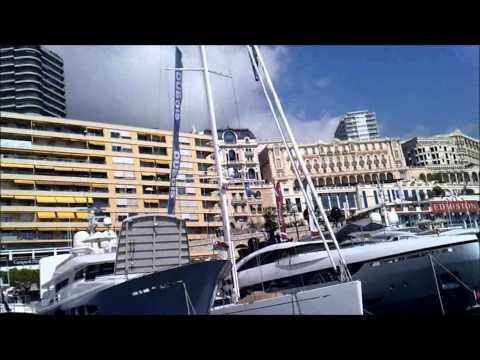 Monaco Yacht Show 2013 - inside #Hybrid Yachts 60 Min.