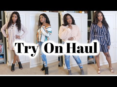 Rose Gal Try On Haul / Fall Try On Haul / Curvy Girl Fashion / Clothing  /