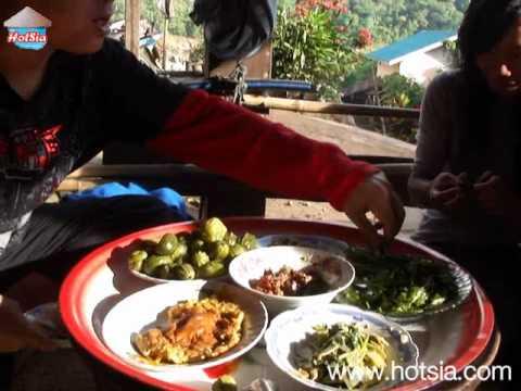 อาหารลาว บ้านท่าซ่วง (eat laos food)