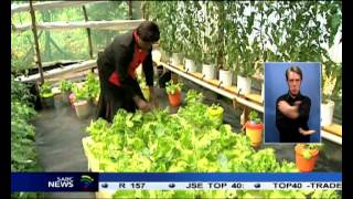 A farmer in central Kenya is changing farming