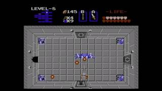 The legend of Zelda 1986 NES   level  8 Magic Key  Part 22