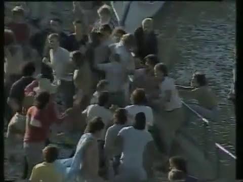 barra argentina peleando contra la barra inglesa mexico 86