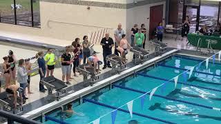 Shepard's first swim meet