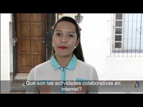 ¿Qué son las actividades colaborativas en Internet?