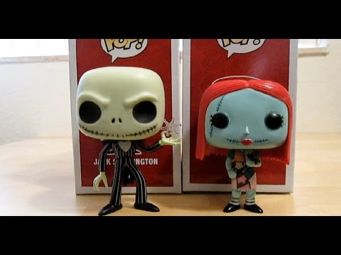 Jack Skellington & Sally Nightmare Before Christmas Hot Topic Exclusive Funko Pop Review
