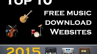 Top 10 free music download websites 2015