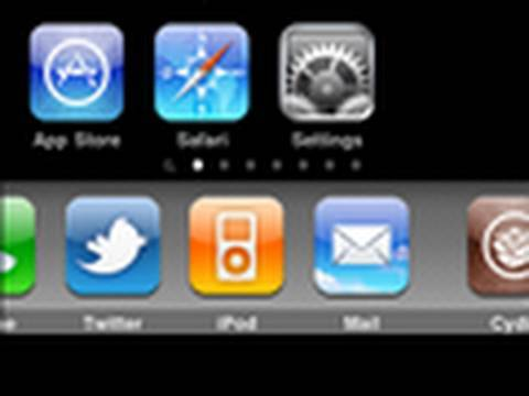 How To Get A Sliding Dock On iPhone Or iPod Touch