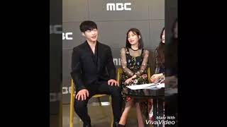 Joy and woo do hwan sweet moment ( THE GREAT SEDUCER PRESSCON)