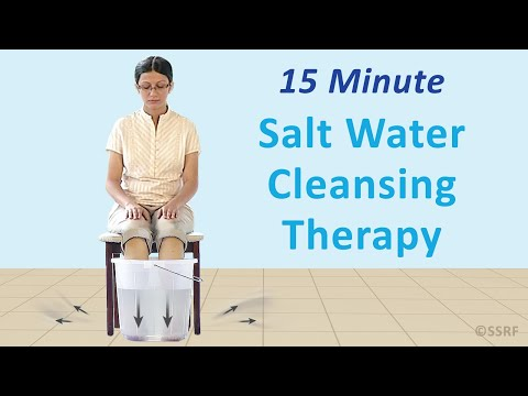 Salt water treatment (Spiritual healing)