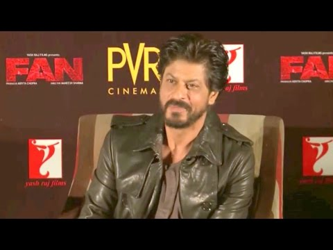 Shahrukh Khan Exclusive Interview at Fan Anthem Release Event