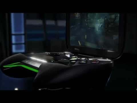 NVIDIA Project SHIELD real-time demo