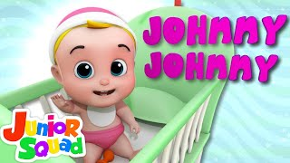 Johny Johny Yes Papa | Nursery Rhymes | Baby Songs | Children Rhyme By Junior Squad