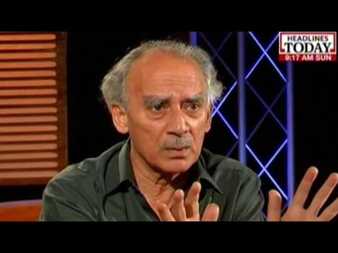 Government Lacks Clear Thinking:  Arun Shourie