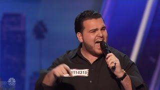 America's Got Talent 2016 Sal Valentinetti Channels Frank Sinatra Full Audition Clip S11E03