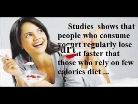 Yogurt : the right choice to burn fats