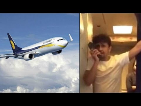 Sonu Nigam's mid air singing leads to Jet Airways crew members suspension