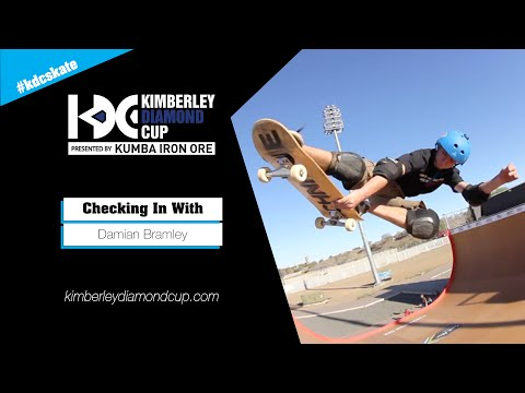 Skating Vert In Kimberley, South Africa With Damian Bramley