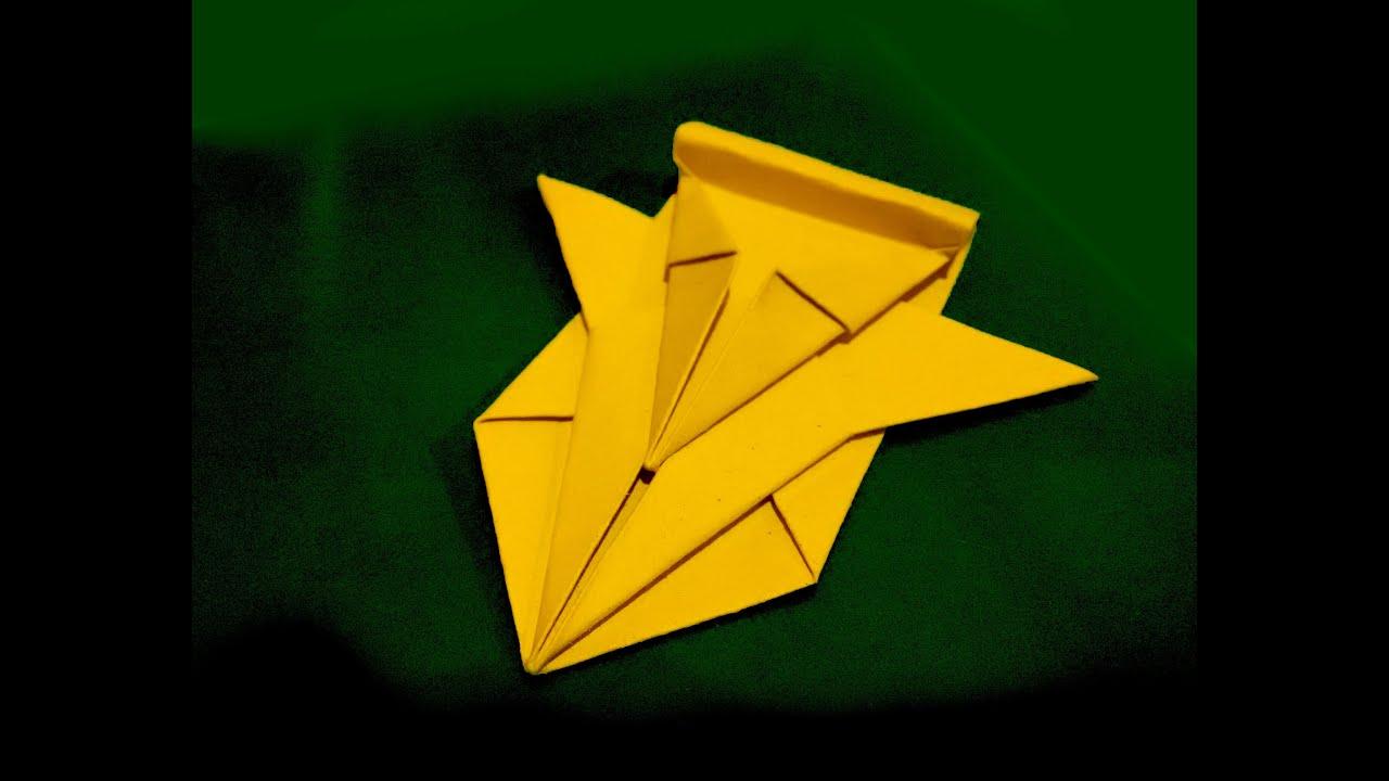 Как сделать гоночный самолет из бумаги