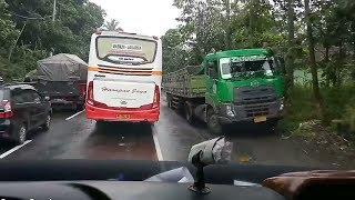macet_Harapan Jaya buka jalur berjamaah,24rc,Puma Sr2 diBoyolali