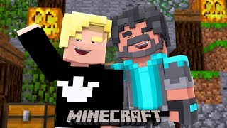 MY PARTNER STAYED TO THE END!!!!! | Minecraft Bed Wars