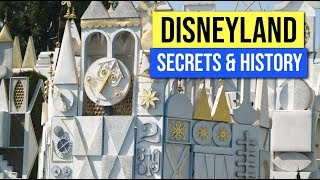 Disneyland Secrets and History of It