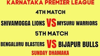 || KPL-2019 || SML-vs-MW 4th💯 & BLB-vs-BB 5th Match || Preview key Players & Match Prediction💯💯
