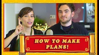 How to Make Plans in Mandarin Chinese (Arranging a Time and Place to Meet Someone)