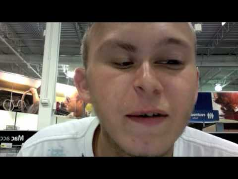 Me singing Gay FIsh by Kayne West at Best Buy in Highland Indiana! Next time I'll get a new kanye west swag glasses and diss him! Kanye West is a biggest gay...