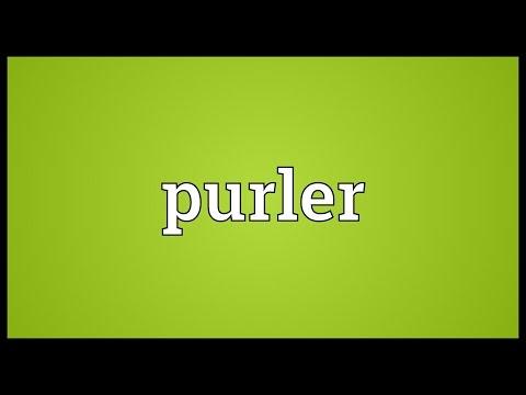 Header of purler