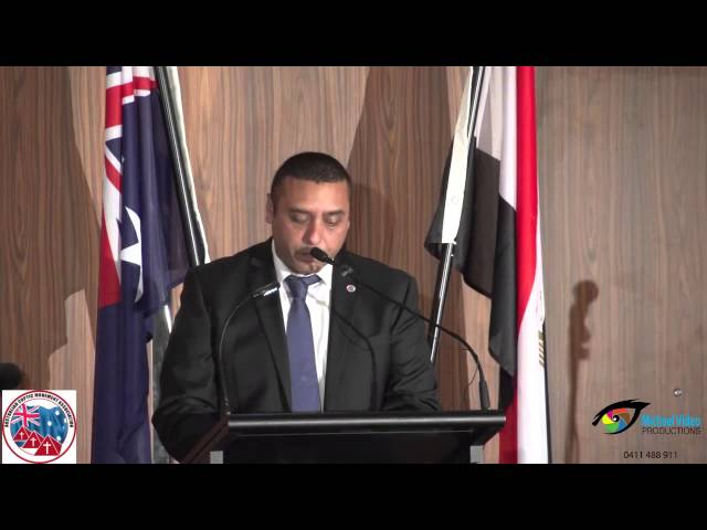 Speech by Peter Tadros on behalf of Australian Coptic Movement Association at Coptic New Year Dinner