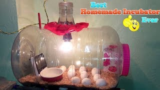 DIY - HOMEMADE INCUBATOR || HOW TO MAKE AN EGG INCUBATOR || HATCHING CHICKEN EGGS