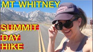 Mt. Whitney Summit Day Hike