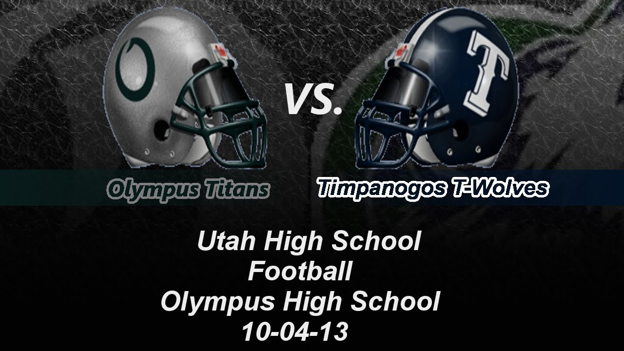 High School Wolves High School Football Olympus