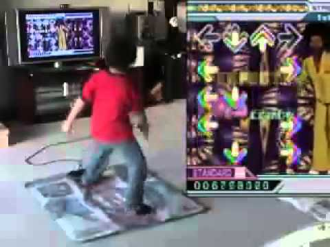 Child prodigy   Dance Dance Revolution Afronova