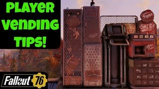 Fallout 76: Player Vending Tips!