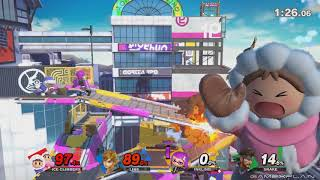 Super Smash Bros. Ultimate Gameplay - Inkling, BotW Link, Snake, & ice Climbers (DIRECT FEED)