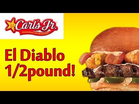 ♦ Carls Jr El Diablo ♦ The Fast Food Review