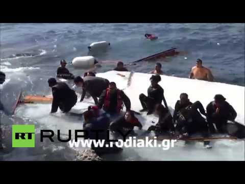 Greece: At least 3 dead as migrant ship sinks off coast of Rhodes