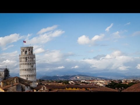 Leaning Tower of Pisa Timelapse