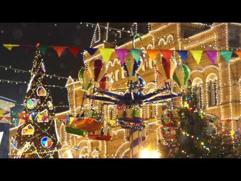 Самое красивое видео о новогодней Москве/Christmas Moscow