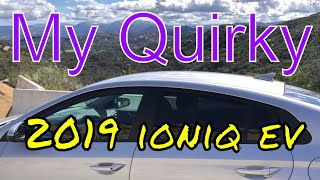 The Quirky Hyundai IONIQ E.V. review and fun road test, vs Nissan Leaf