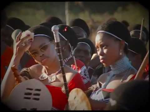 Swaziland - Reed Dance For King Mswati Iii video