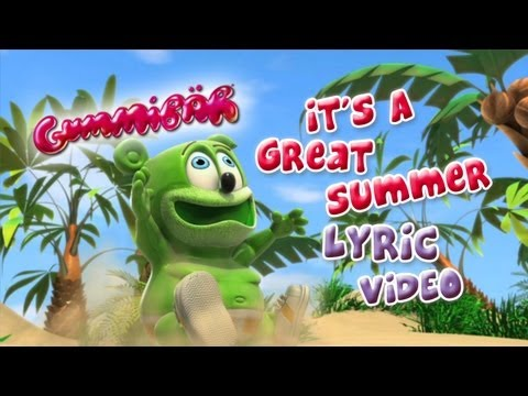 Lyric Video It's A Great Summer Gummibär The Gummy Bear Song
