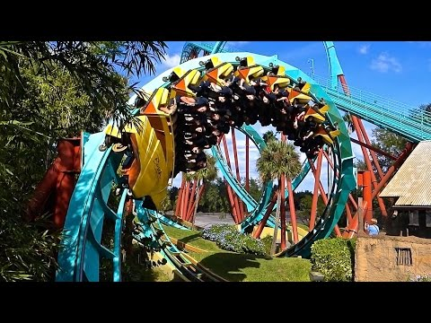 Busch Gardens 2014 Tour and Overview |  Tampa, Florida