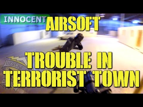 DesertFox Airsoft: Trouble in Terrorist Town (TTT) with ASG Scorpion