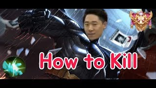 《ahq Rush 》Thailand SS Rank~ !! Batman play!! How to Kill(傳說對決,ROV,LiênQuânMobile,AOV)
