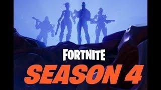 Fortnite Season 4 Battle Pass Reaction   New Skins & Dances